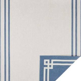Modro-krémový venkovní koberec Bougari Manito, 200 x 290 cm