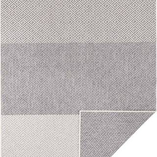 Světle šedý oboustranný venkovní koberec Bougari Maui, 80 x 150 cm