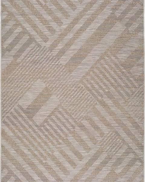Universal Béžový venkovní koberec Universal Devi, 120 x 170 cm