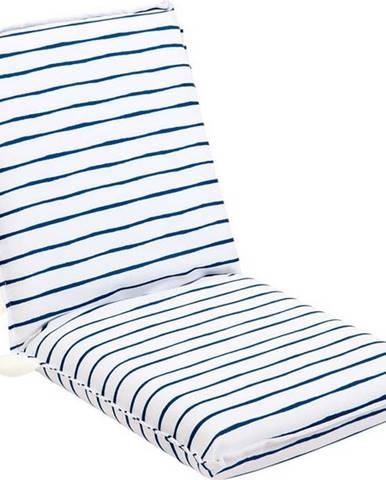 Bílo-modrý zahradní podsedák Sunnylife Nouveau Bleu
