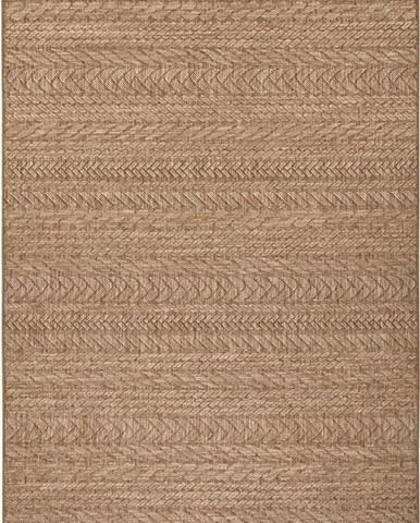 Hnědý venkovní koberec Bougari Granado, 80 x 150 cm