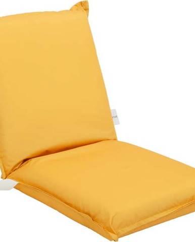 Oranžový zahradní podsedák Sunnylife Mustard