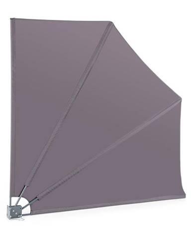 Blumfeldt Julietta, boční markýza, 140 x 140 cm, PU povrch, 160 g/m², skládací