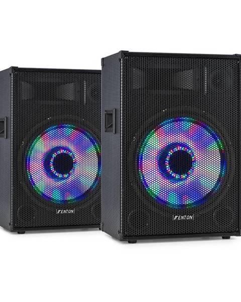 """Fenton Fenton TL15LED, pár 3-cestných pasivních reproduktorů, RGB-LED, 15"""" woofer, 800 W Tweeter"""