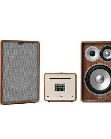 Numan Unison Retrospective 1978 MKII edition – stereo systém: zesilovač + reproduktory + kryty