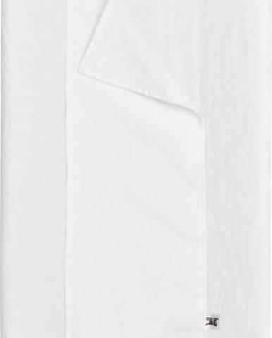 Bílá dětská lněná voděodolná podložka na přebalování BELLAMY Snow White, 50x70cm