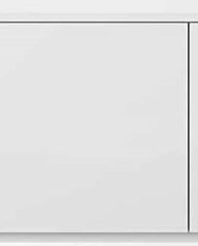 Bílá komoda s matnou bílou deskou TemaHome Join, 180 x 57 cm