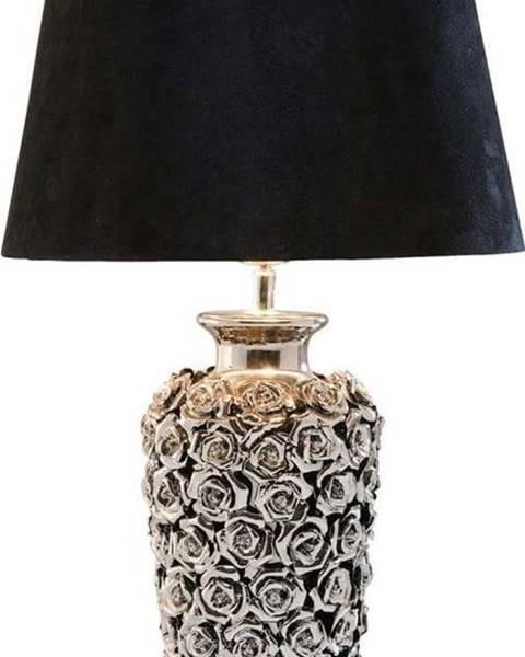 Kare Design Stolní lampa ve stříbrné barvě Kare Design Rose