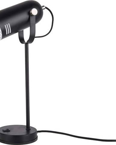 Černá stolní lampa Leitmotiv Husk