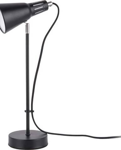 Černá stolní lampa Leitmotiv Mini Cone,ø16cm