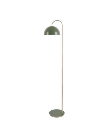 Stojací lampa v matné zelené barvě Leitmotiv Decova