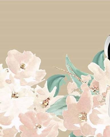 Sada 2 béžových prostírání Mike & Co. NEW YORK Honey Flowers,33x45cm