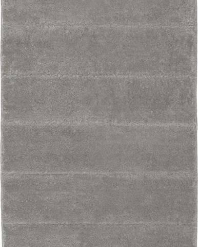 Světle šedá koupelnová předložka Wenko Steps, 120x70cm