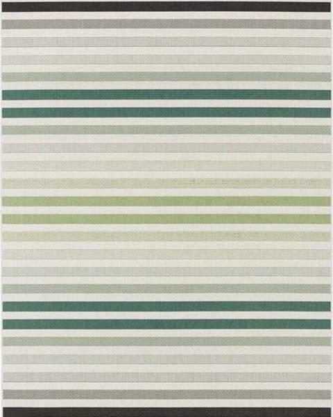 Bougari Zeleno-šedý venkovní koberec Bougari Paros, 160 x 230 cm