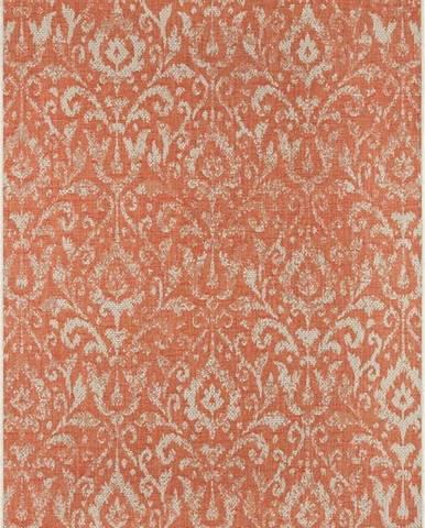 Oranžovo-béžový venkovní koberec Bougari Hatta, 160 x 230 cm
