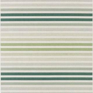 Zeleno-šedý venkovní koberec Bougari Paros, 160 x 230 cm