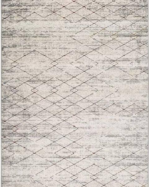 Universal Šedý koberec Universal Berlin Geo, 160 x 230 cm