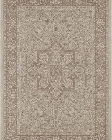 Hnědo-béžový venkovní koberec Bougari Anjara, 200 x 290 cm