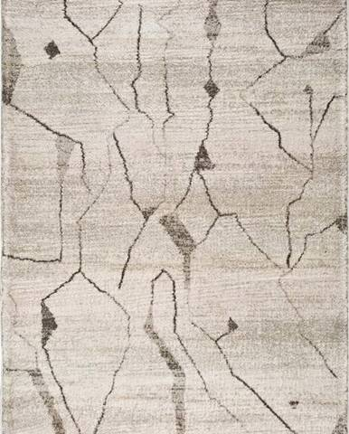 Krémový koberec Universal Moana Creo, 135 x 190 c m
