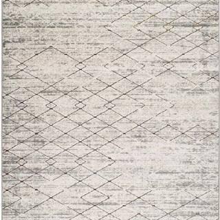 Šedý koberec Universal Berlin Geo, 160 x 230 cm