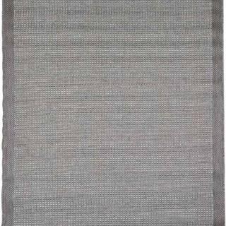 Šedý venkovní koberec Floorita Chrome, 200 x 290 cm