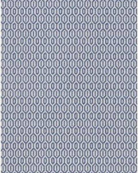 Bougari Modrý venkovní koberec Bougari Coin, 80x200cm