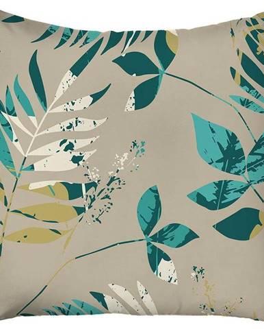 Béžový povlak na polštář Mike & Co. NEW YORK Jungle,43x43cm