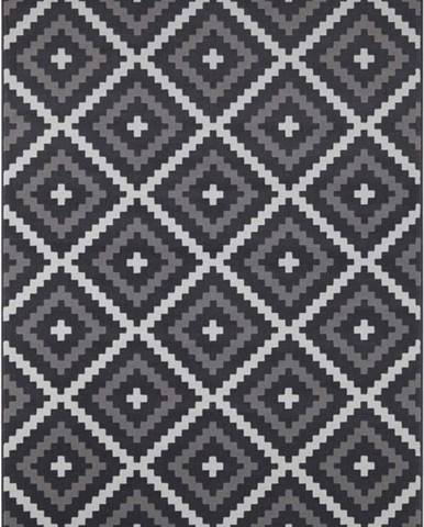 Černo-krémový koberec Hanse Home Celebration Mazzo, 80 x 150 cm