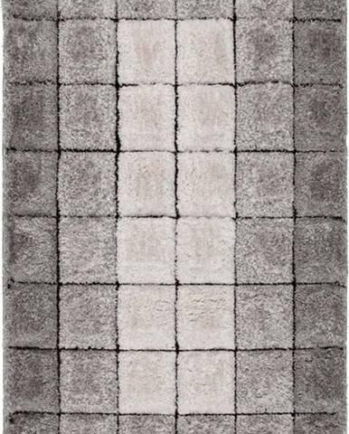 Šedý koberec Flair Rugs Cube, 160 x 230 cm