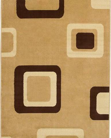 Béžový koberec Think Rugs Diamond,120x 170cm