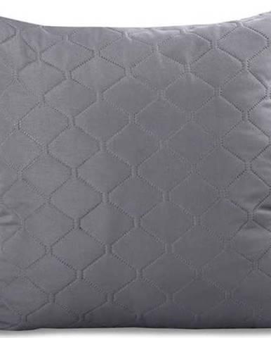 Sada 2 šedých povlaků na polštář z mikrovlákna DecoKing Axel, 40x40cm