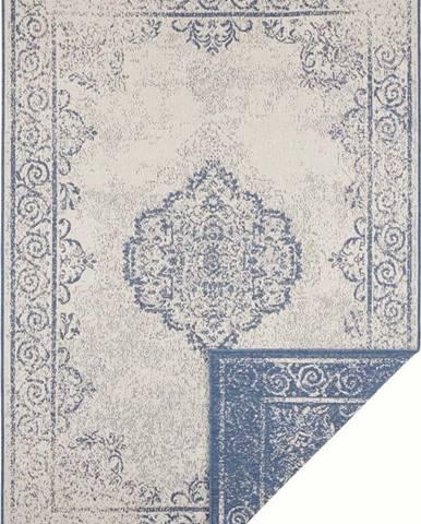 Modro-krémový venkovní koberec Bougari Cebu, 160 x 230 cm