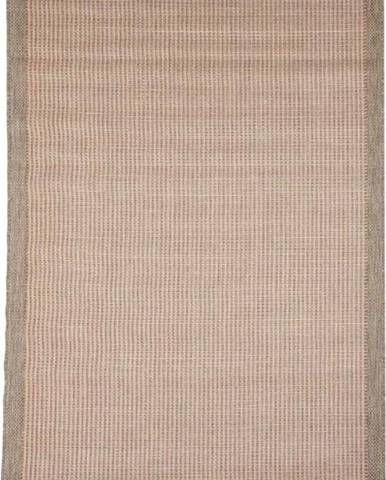 Oranžový venkovní koberec Floorita Chrome, 135 x 190 cm