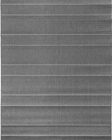 Šedý koberec vhodný i na ven Hanse Home Sunshine, 80 x 150 cm
