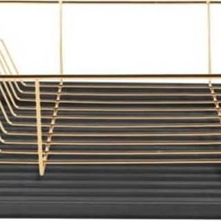 Odkapávač na nádobí ve zlaté barvě PT LIVING Linea