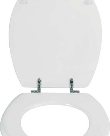 Bílé toaletní prkénko Wenko Bali