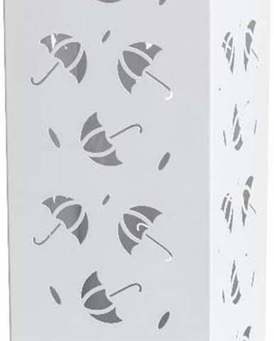 Bílý kovový stojan na deštníky Brandani Scande