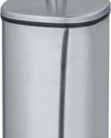 Toaletní kartáč v matně stříbrné barvě Wenko Alassio