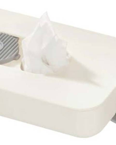 iDesign Bílý cestovní zásobník na kapesníčky iDesign Clean