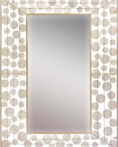 Nástěnné zrcadlo ve zlaté barvě Mauro Ferretti Dish Glam, 85x110 cm