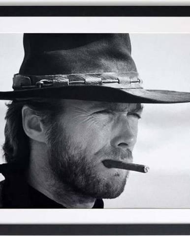 Černobílý plakát Little Nice Things Eastwood, 40 x 30 cm