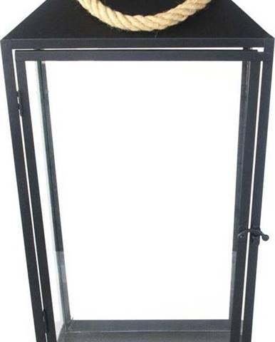 Černá lucerna Esschert Design Classical,výška58cm