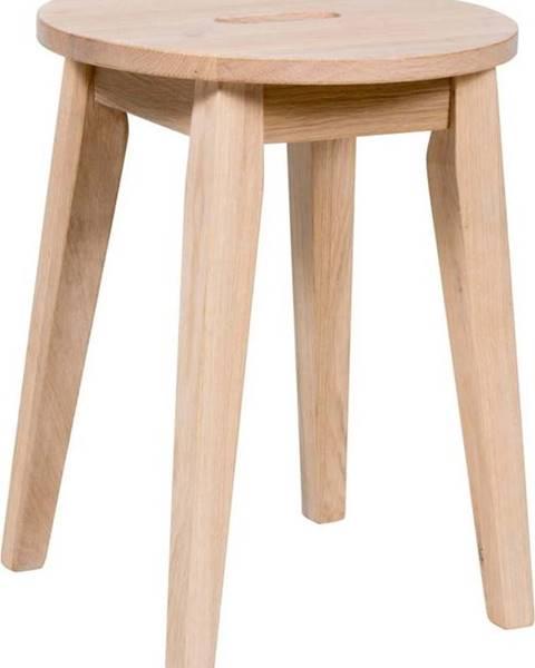 Rowico Matně lakovaná nízká dubová stolička Rowico Frigg
