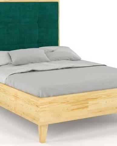 Dvoulůžková postel z borovicového dřeva Skandica Frida, 180x200cm