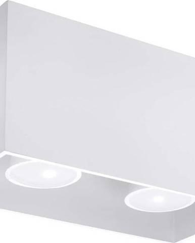 Bílé stropní svítidlo Nice Lamps Geo