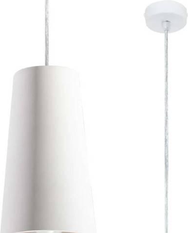 Bílé keramické závěsné svítidlo Nice Lamps Armica
