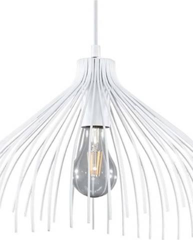 Bílé závěsné svítidlo Nice Lamps Umea