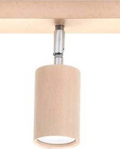 Dřevěné stropní svítidlo Nice Lamps Ludwik,délka45cm