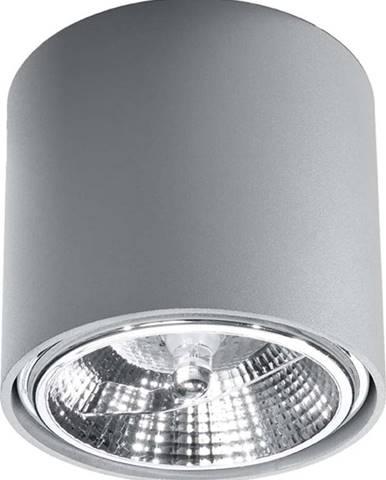 Šedé stropní svítidlo Nice Lamps Luigi