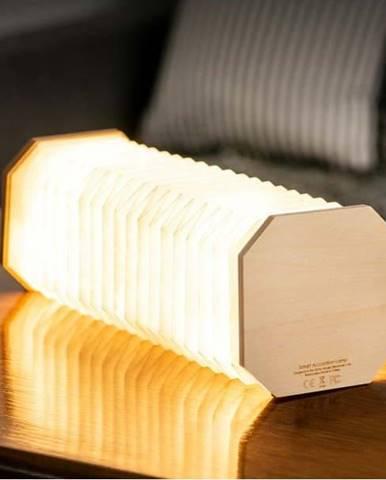 Béžová skládací lampa Gingko Accordion